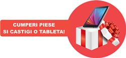 Adauga produse in cos si te primesti gratuit o tableta, garantat! Valoare minima: 12.500 lei+TVA/firma
